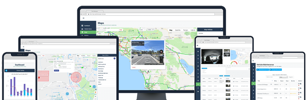 GPS tracking software solution